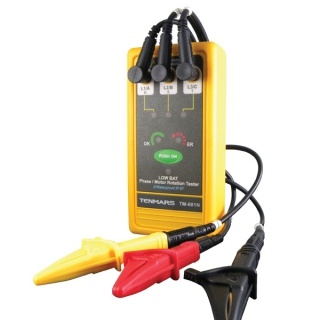 TM-601N 3 Phase/ Motor Rotation Tester 檢相計產品圖