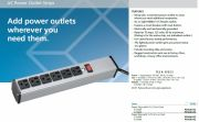 BLACKBOX-PS163A-R2  Outlet Power Strip, 6-Outlet, 6-ft. (1.8-m) Cord   6埠電源分配器, 1.8公尺電源線產品圖