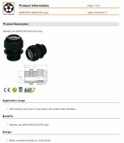 LAPP-SKINTOP® KR-M ATEX plus  With reducing seal insert, to seal cables with smaller outer diameters產品圖
