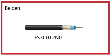 BELDEN-FS3C012N0 Outdoor Central Loose Tube OM3 12 Fiber產品圖