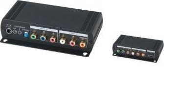 YSCT-YH01 分量視音頻轉HDMI 轉換器 Component Video to HDMI Converter with Local loop Component output產品圖