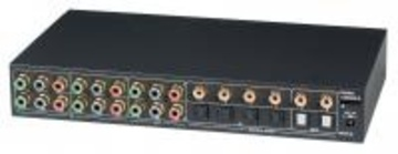 YSCT-YS04MD 4進2出分量視頻&數字音頻矩陣切換器 4 Input 2 Output Component Video Switcher With Digital Audio產品圖