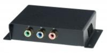 YSCT-YE01 無源分量視頻(YPbPr)雙絞線延長器 Component Video (YPbPr) CAT5 Extender產品圖