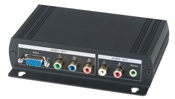 HVY01 HDMI轉VGA或分量視音頻轉換器 HDMI to VGA or Component Video Converter產品圖