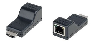 HE01SER 無源HDMI雙絞線接收器 HDMI CAT5 Receiver – Passive type產品圖