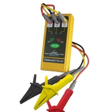 TM-604 3 Phase/ Motor Rotation Tester 檢相計產品圖
