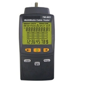 TM-903 Multimedia LAN cable Tester TM-903 網路線測試器產品圖