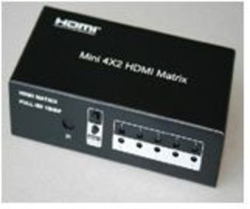 Innochain-HMX-402EQ 4 to 2Matrix HDMI Switch產品圖