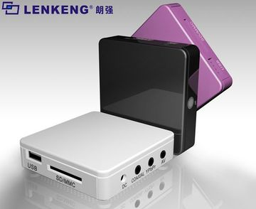 LENKENG-LHD50 Mini HD Media Player HDD PLAYER 新一代RMVB播放器產品圖