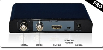 LENKENG-LKV368PRO SDI转HDMI专业高清转换器(支持3G-sdi/hd-sdi)(HD-SDI to HDMI, SD-SDI and 3G-SDI to HDMI)產品圖