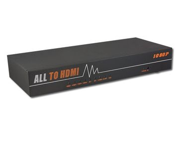 LENKENG-LKV391 All Video to HDMI Scaler & Switch HDMI转换器ALL IN ONE產品圖