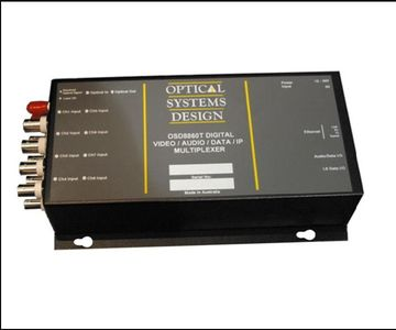 OSD8860 Digital Add/Drop Video/Data/Ethernet Multiplexer 光電轉換器產品圖
