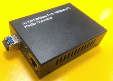 SKC-5211 10/100/1000Base Gigabit Ethernet Fiber Converter Mini GBIC(SFP)超高速光電轉換器產品圖