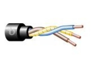Teldor-352503H101 3CX2.5 mm2 0.6/1.0 KV Underground Electrical Power Cable with HFFR Jacket 低煙無毒可直埋電纜產品圖