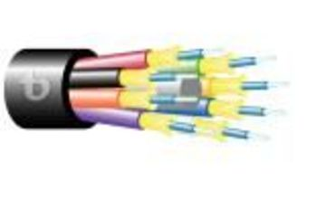 Teldor-95B77FM06B Fiber Optic 6 Fiber Outdoor Breakout Cable 緊式室外光纖電纜產品圖