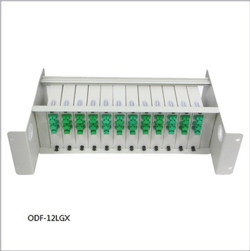ODF-12LGX Fixed fiber optic patch panel 固定式配线箱ODF-12LGX產品圖