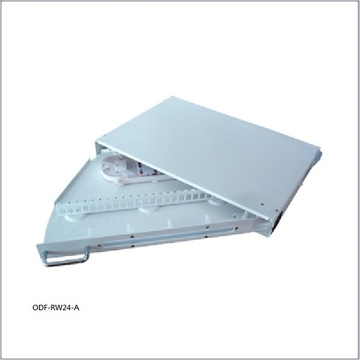 ODF-RW24-A Swing out Fiber optic patch panel 旋轉式光纖配线箱產品圖