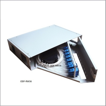 ODF-RW36 Rotate type fiber optic patch panel 旋轉式光纖配线箱產品圖